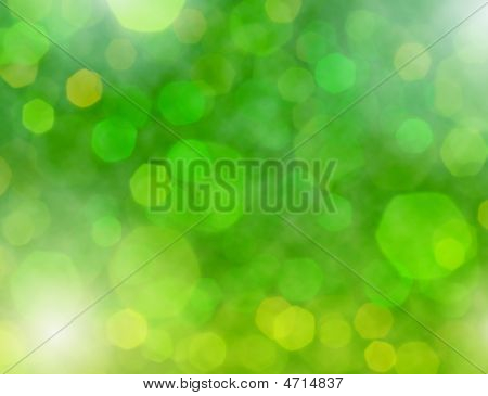 Abstract Holiday Lights Beautiful Background
