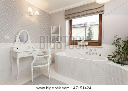 Toscana - baño con tocador