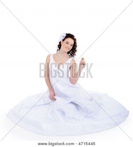 Attractive Young Bride