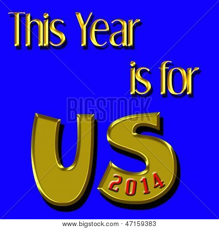 Jahr für uns 2014