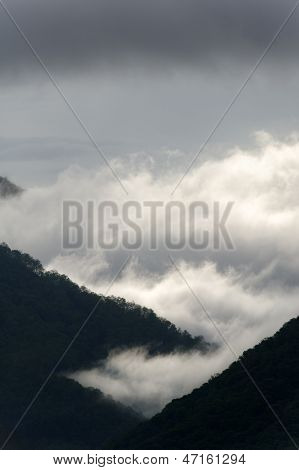 Stormy Mountain Mist