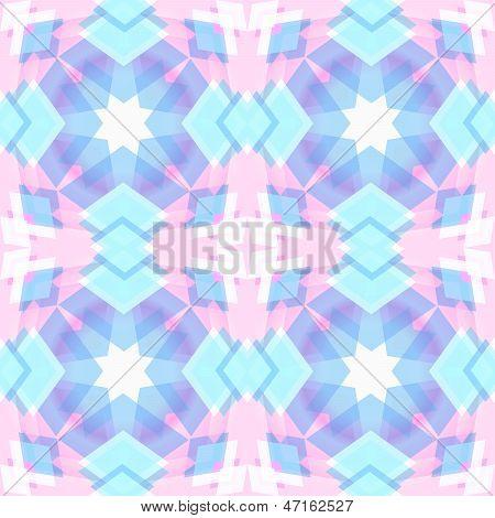 Abstract Geometric Snowflake