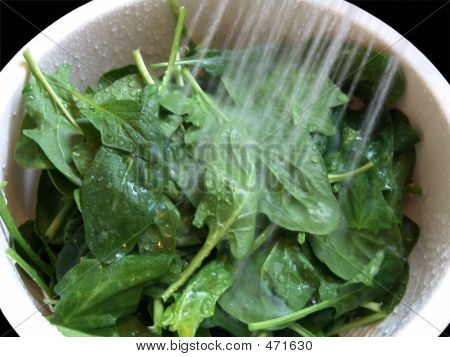 Wash Green Vegetable