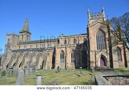 Ancient Abbey at Dunfermline