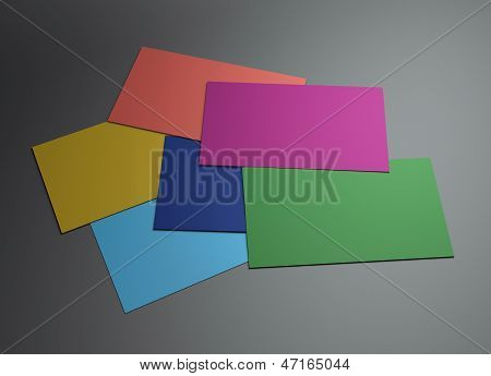 Many Colorful Namecard