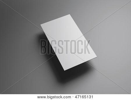 Namecard verticaal links Float stijl