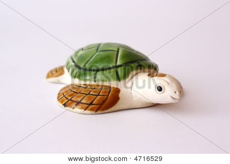 A Pottery Turtle