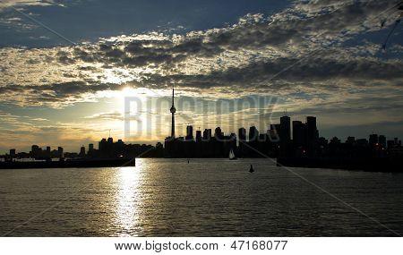 Toronto Near Sunset