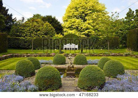 English landscaped garden.