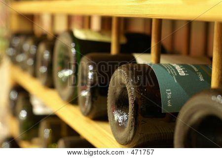 Row Of Wines