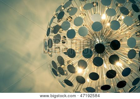 Vintage Lampshade Detail