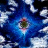 foto of all seeing eye  - Beautiful Eye Design - JPG