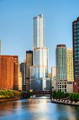 Trump International Hotel And Tower In Chicago, Il am Morgen