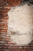 Old Brick Wall Fragment Texture