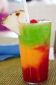 "stock photo of rasta  - ""The Bob Marley""-- A drink served at a resort in Jamaica. - JPG"