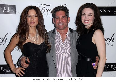 Kerri Kasem, Grant Cardone, Elena Lyons Cardone at the Nathanaelle Fashion Show, Skybar, West Hollywood, CA. 03-15-11