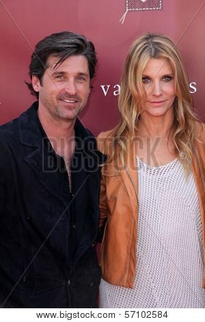 Patrick Dempsey and wife  at the John Varvatos 8th Annual Stuart House Benefit, John Varvatos Boutique, West Hollywood, CA. 03-13-11