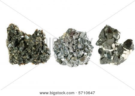 Ore minerals set