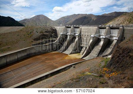 Benmore Dam, New Zealand