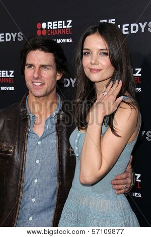 Tom Cruise and Katie Holmes at the