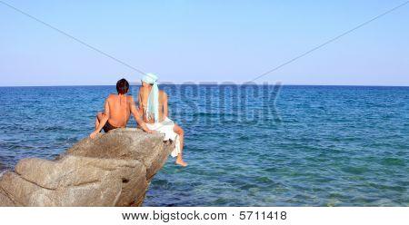 Having Fun In The Sea