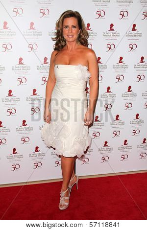 Martha Byrne at the St. Jude Children's Research Hospital 50th Anniversary Gala, Beverly Hilton, Beverly Hills, CA 01-07-12