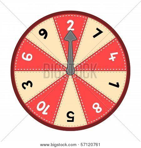 Number Wheel 1-10
