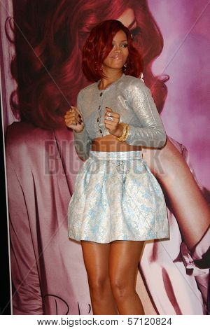 Rihanna at the Reb'l Fleur by Rihanna Perfume Launch, Macy's, Lakewood, CA. 02-18-11