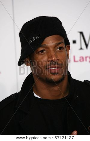 Marlon Wayans at the 2011 T-Mobile NBA All-Star Game, Staples Center, Los Angeles, CA 02-20-11