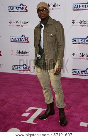 Ne-Yo  at the 2011 T-Mobile NBA All-Star Game, Staples Center, Los Angeles, CA 02-20-11