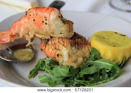 Shrimp Oreganata