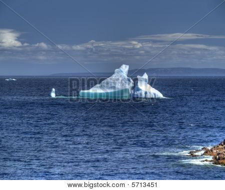 Spring time iceberg