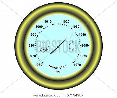 Round Barometer