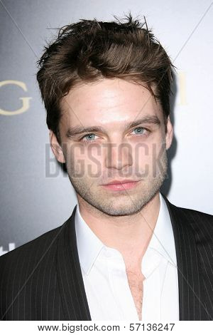 Sebastian Stan at a Bvlgari Private Event Honoring Simon Fuller And Paul Haggis To Benefit Save The Children And Artists For Peace And Justice, Private Location, Beverly Hills, CA. 01-13-11