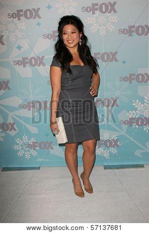 Jenna Ushkowitz at the 2011 FOX Winter All-Star Party, Villa Sorriso, Pasadena, CA. 01-11-11
