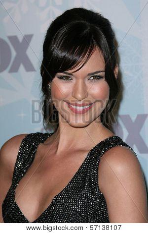 Odette Yustman at the 2011 FOX Winter All-Star Party, Villa Sorriso, Pasadena, CA. 01-11-11