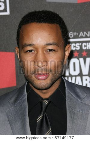 John Legend  at the 16th Annual Critics' Choice Movie Awards Arrivals, Hollywood Palladium, Hollywood, CA. 01-14-11