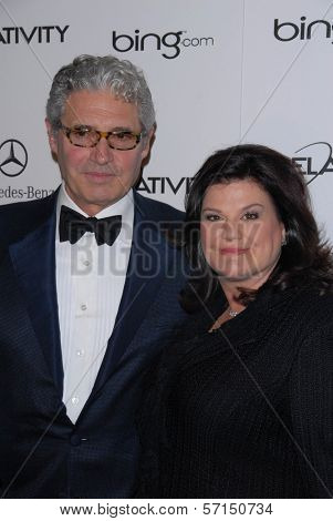 Michael Nouri and Ann Serrano  at the 2011 Art Of Elysium