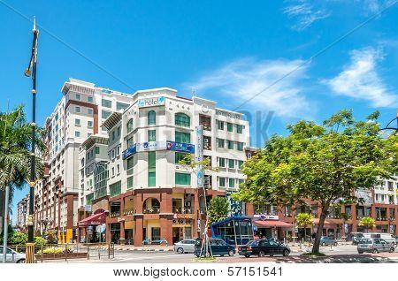 Streets Of Kota Kinabalu
