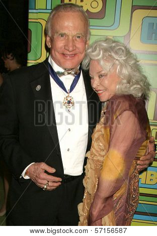 Buzz Aldrin and Lois Aldrin at HBO's 68th Annual Golden Globe Awards Official After Party, Circa 55 Restaurant, Beverly Hills, CA. 01-16-11