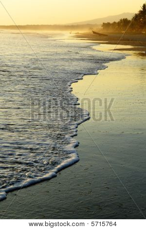 Beach At Sunset