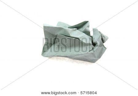 The Grey Crumpled Sheet