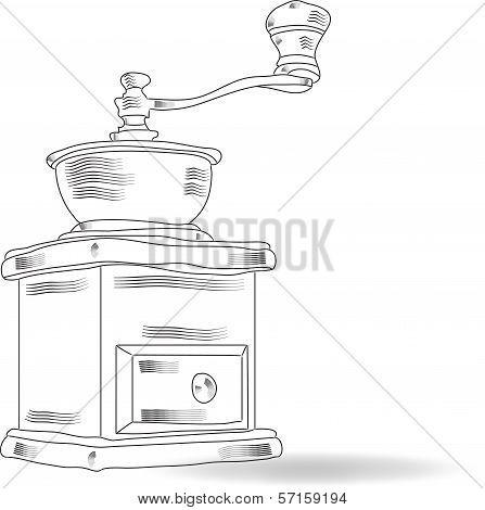 Sketch Coffee Grinder