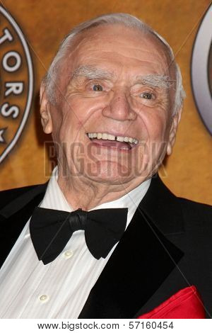 Ernest Borgnine at the 17th Annual Screen Actors Guild Awards Press Room, Shrine Auditorium, Los Angeles, CA. 01-30-11