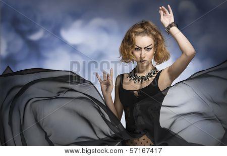 Gothic Fashion Woman