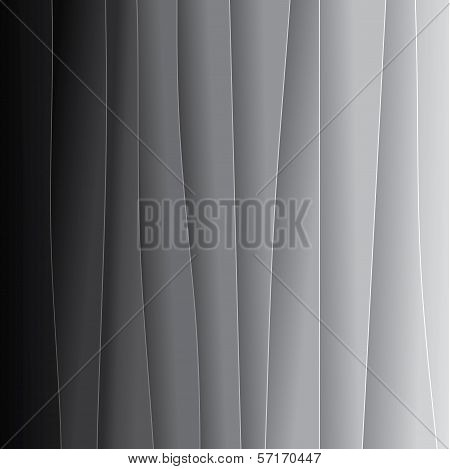 Abstract Background Of Black & White Paper Sheets - Vector Graphic