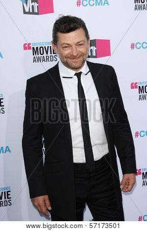 Andy Serkis at the 17th Annual Critics' Choice Movie Awards, Palladium, Hollywood, CA  01-12-12