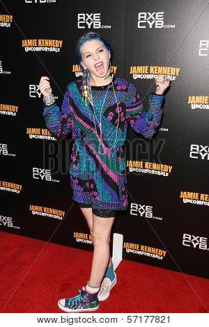 Colette Carr at the premiere of Jamie Kennedy's Showtime Special