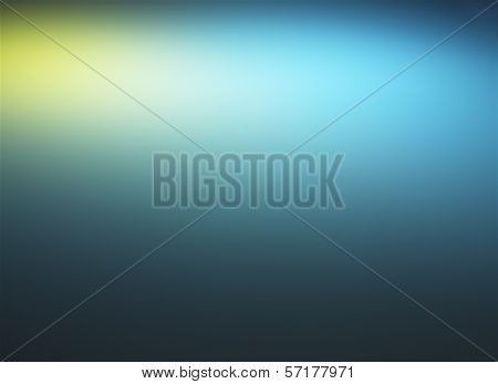 Background of lights in abstract shapes