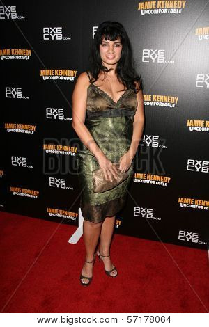 Abhaya Patel at the premiere of Jamie Kennedy's Showtime Special